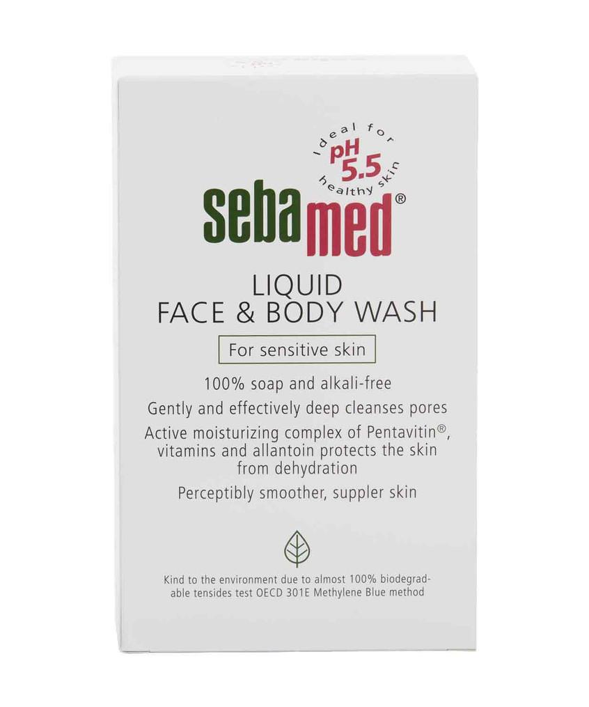 Sebamed Liquid Face and Body Wash for Men & Women 200ml