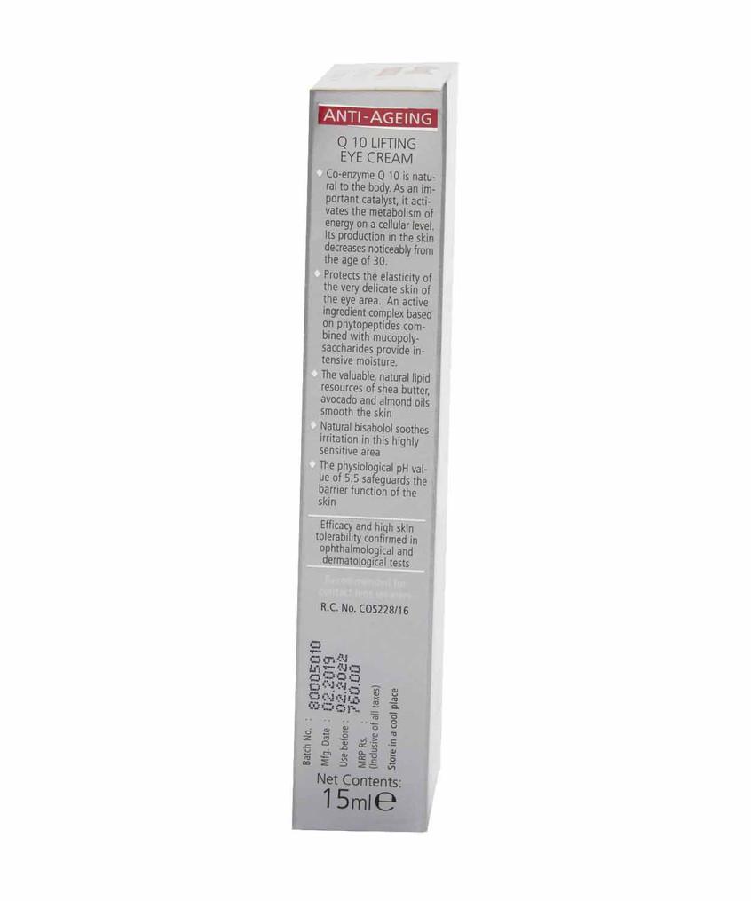 Side View - Sebamed Anti Ageing Q10 Lifting Eye Cream 15ml price