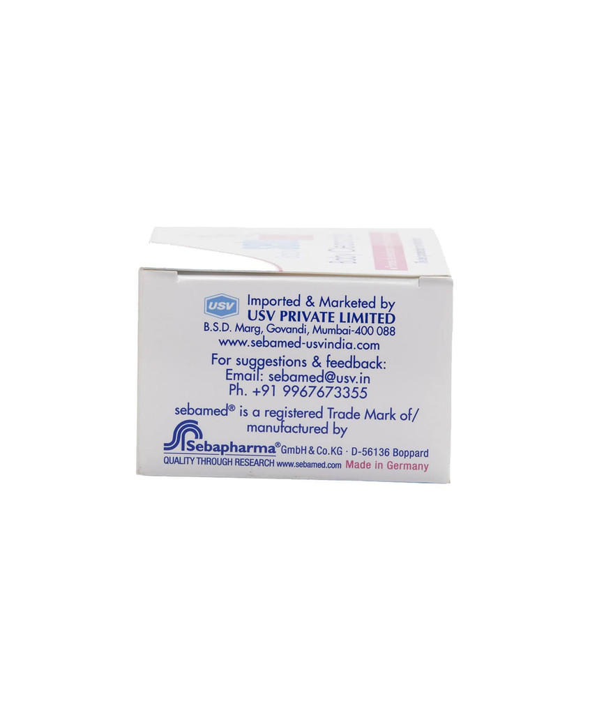 Contact Details & Manufacturer Details on Sebamed Baby Cleansing Bar 100gm | Side View